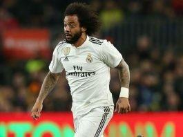Real Madrid left back Marcelo