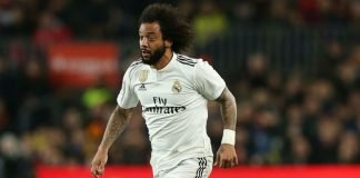 Real Madrid left back Marcelo
