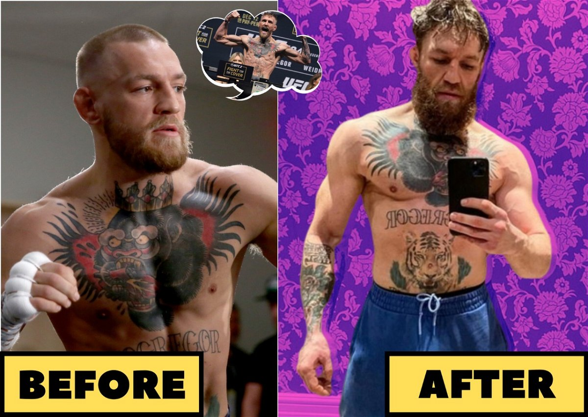 Amazing Body Transformation Of Conor Mcgregor Across Four