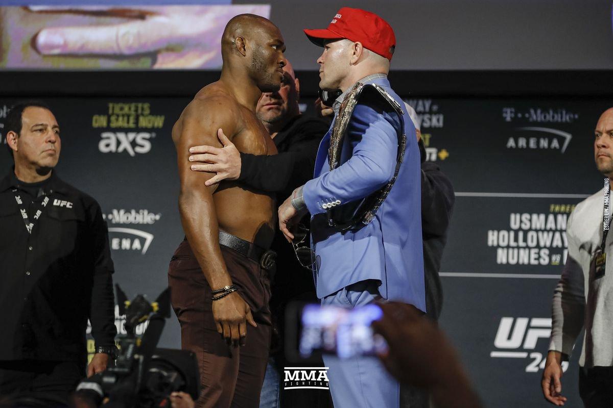 Colby Covington vs Kamaru Usman