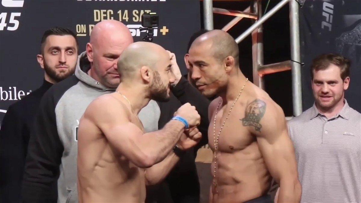 Jose Aldo vs Marlon Moraes