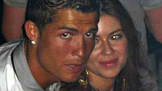 Cristiano Ronaldo and Kathryn Mayorga