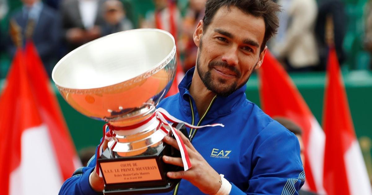 Rolex Monte-Carlo Masters 2019 Champion, Fabio Fognini