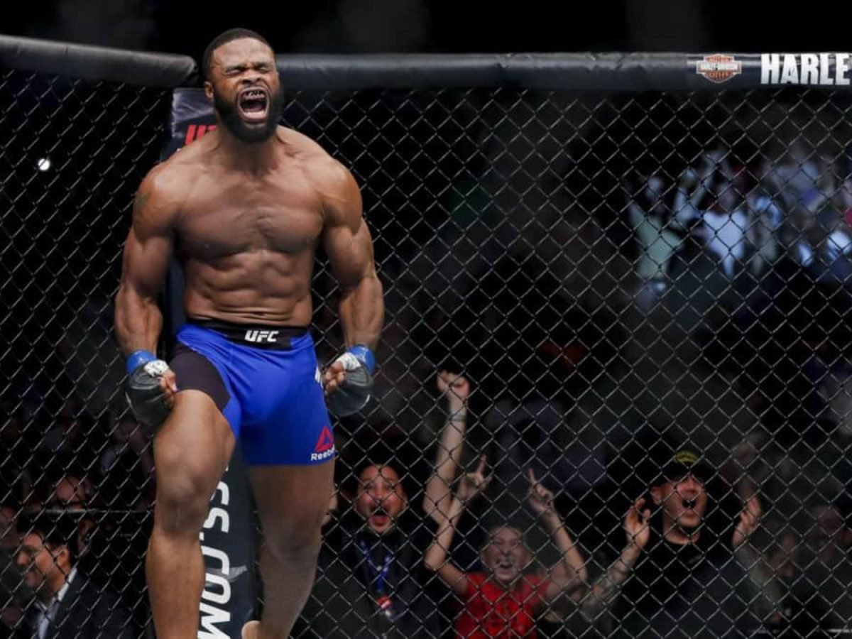 It S Time To Go Tyron Woodley Slams B H Colby Covington For Ducking The Fight Essentiallysports