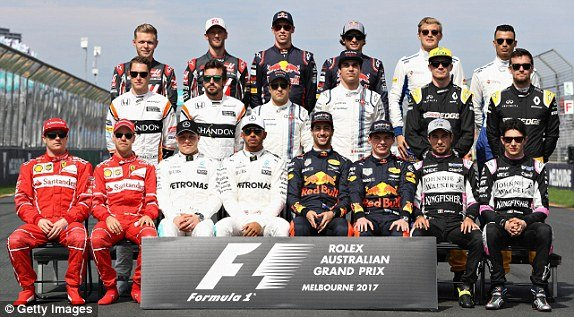 F1 off season