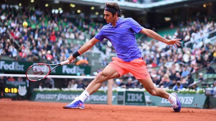 Roger Federer, Roland Garros 2015