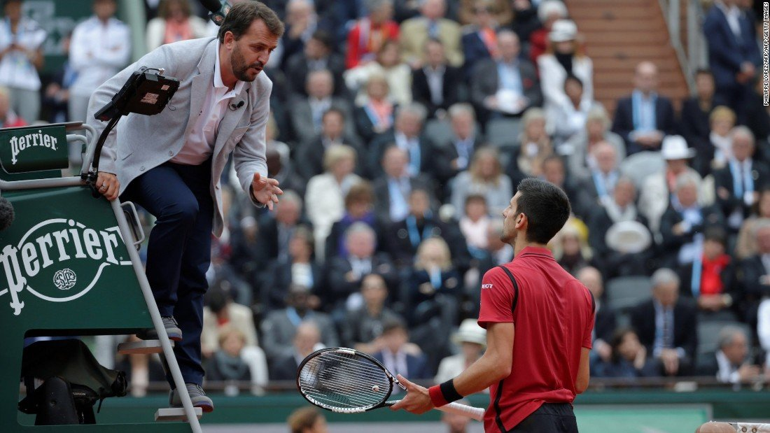 Djokovic Says Chair Umpires Are Humans As Well Essentiallysports