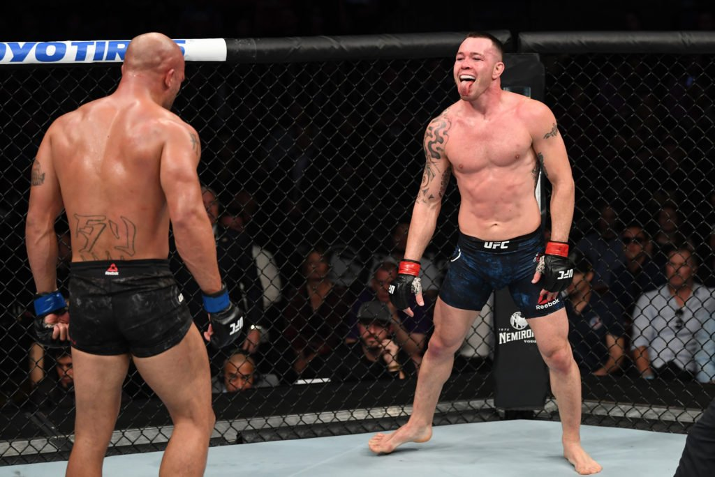 He Beat A Woodley That S Past His Time Colby Covington Taunts Kamaru Usman Essentiallysports