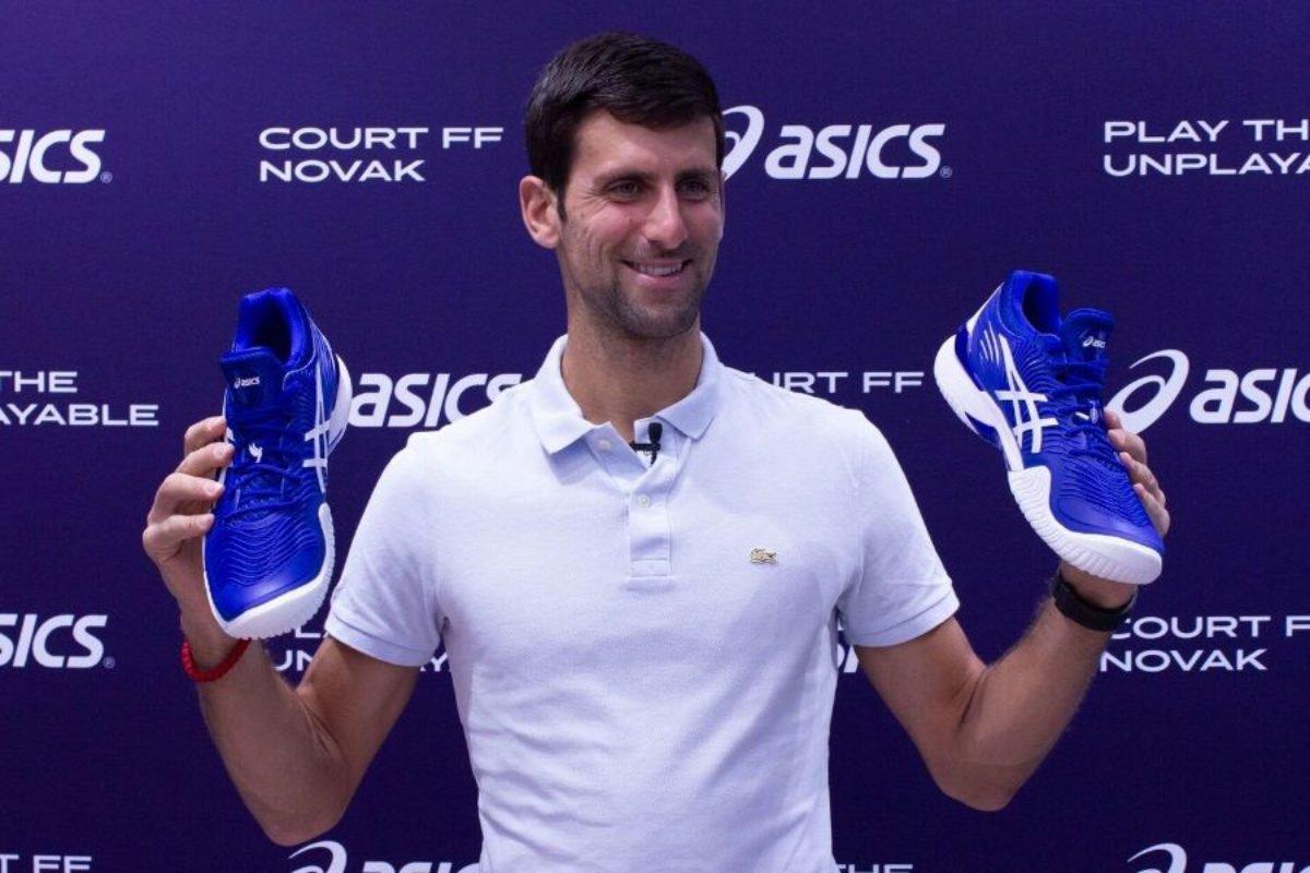 lago Viaje rigidez  The Customized Shoes of Novak Djokovic - EssentiallySports