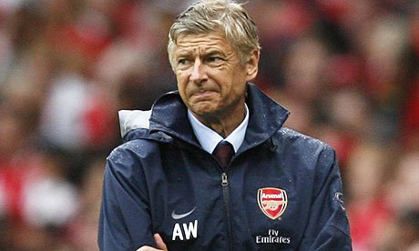 Arsene Wenger has been out of his depth in the Premier League lately