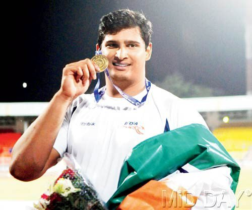 Vikas Shive Gowda distinguished himself as he became the 2nd Indian male sportsperson to win a gold in CWG athletics