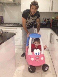 Charlie Austin's daughter receives threats