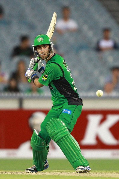 Glenn Maxwell playing for Melbourne stars in BBL