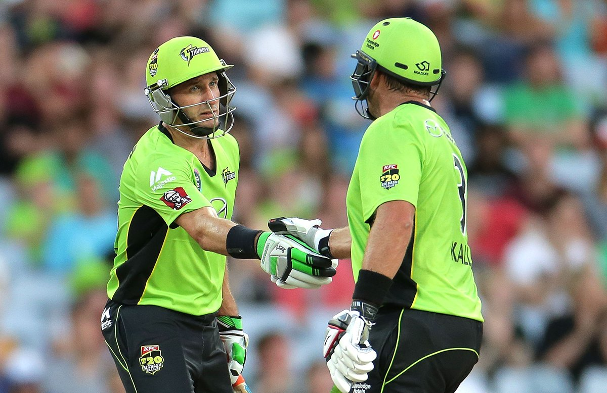 Micheal Hussey and Jacques Kallis