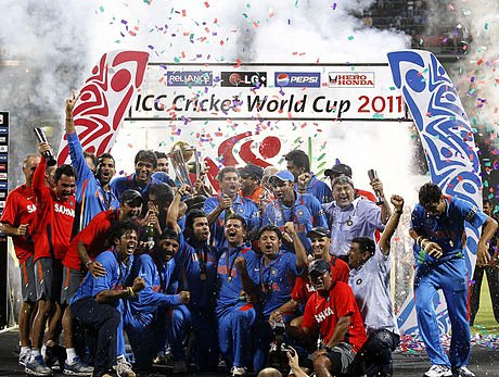 2011 Cricket World Cup Champions