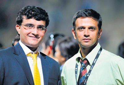 Saurav Ganguly-Rahul Dravid