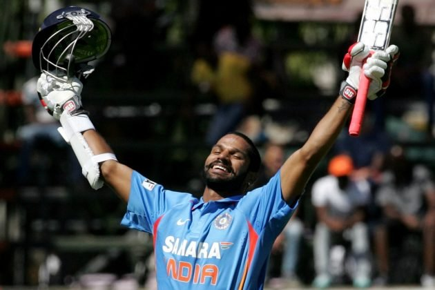 Shikhar Dhawan in World Cup Swuad