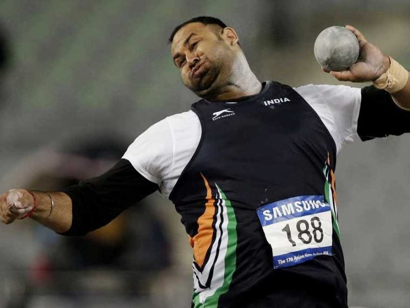 Inderjeet Singh Shot Put Player