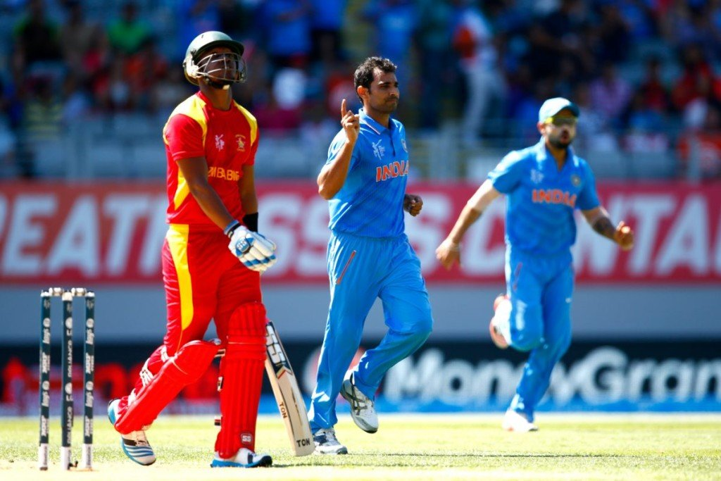 India to tour Zimbabwe in July