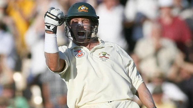 Michael Hussey Adelaide Oval Ashes 2006