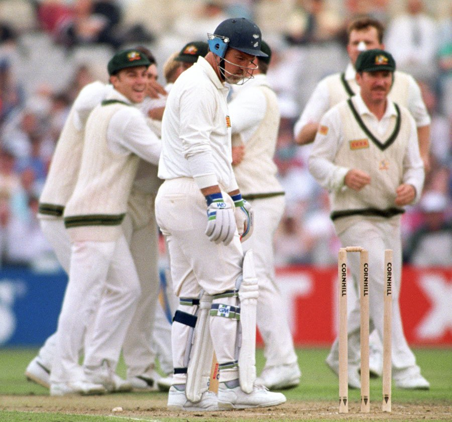 Mike Gatting Shane Warne Ball of The Century