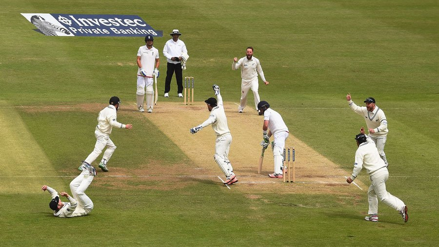 New Zealand England Test Series