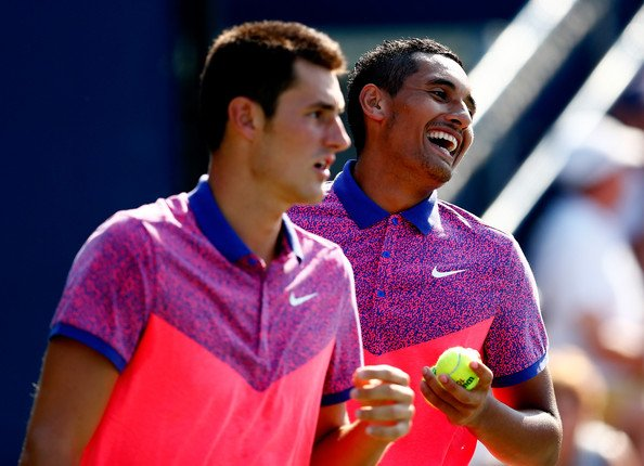 Nick Kyrgios and Bernard Tomic would be the players to watch out from the biggest Australian contigent ever at the Wimbledon