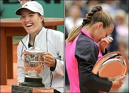 Justine Henin Hardenne vs Mary Pierce