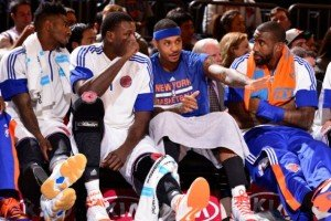 The Knicks finished with the worst season in the 2014/15 NBA season.