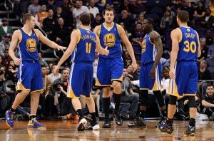 The Golden State Warriors finished with a season best 67-15 record