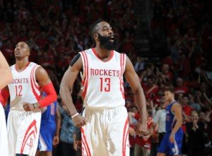 The Rockets made a comeback from 3-1 down as the Clippers froze at the wrong time.