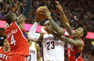 The Cavaliers led by LeBron James swept the high flying Hawks