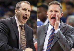 The 2 Rookie coaches of the NBA Finals