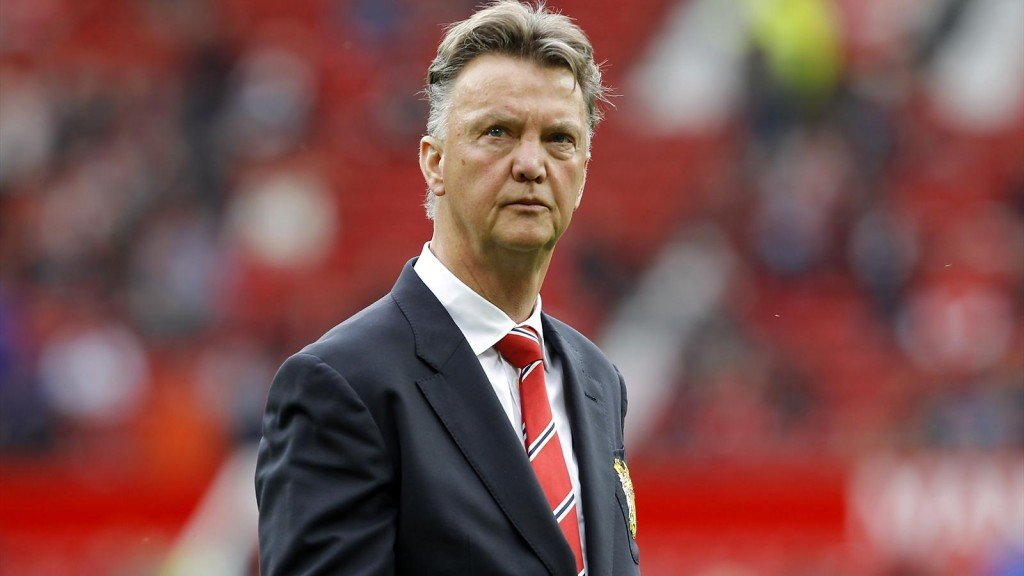 The 62-year-old at his new club, Manchester United.