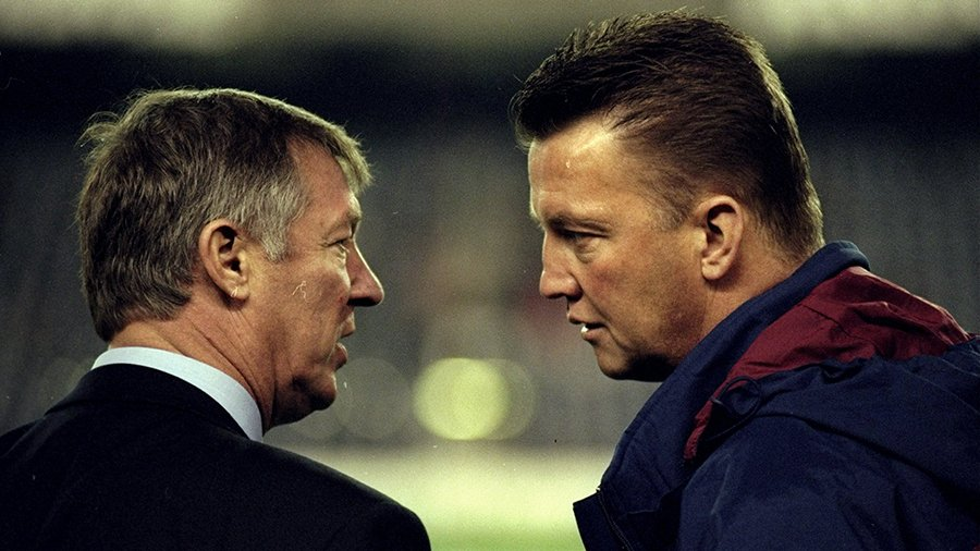 LvG with Sir Alex