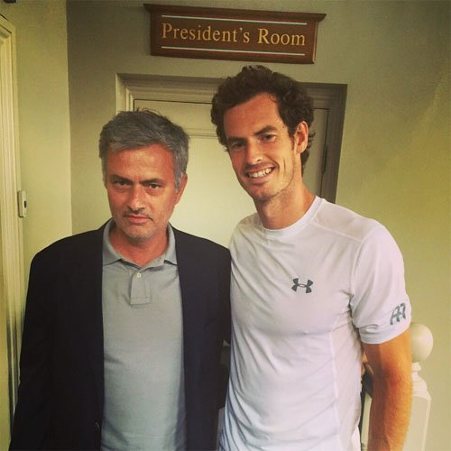 andy murray jose mourinho