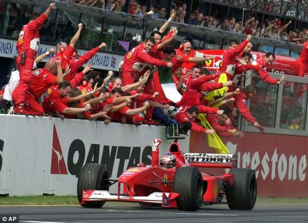 Michael Schumacher's career