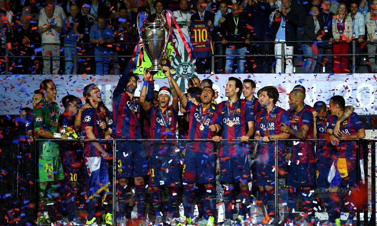 Barcelona Win Their 5th Champions League