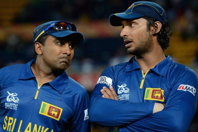 Kumara Sangakara and Mahela Jayawardene to join Master's League