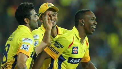 The CSK trio seem very happy at this decision!