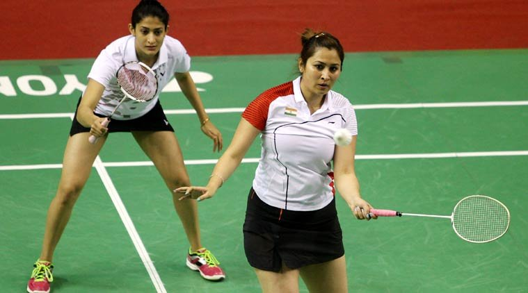 Indian Duo of Jwala-Ashwini Defeated top seed Eefge Muskens & Selena Piek to lift the Title.