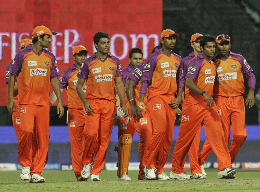 Kochi Tuskers Kerala squad