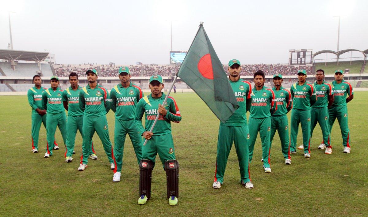 Indian Team For Bangladesh Tour
