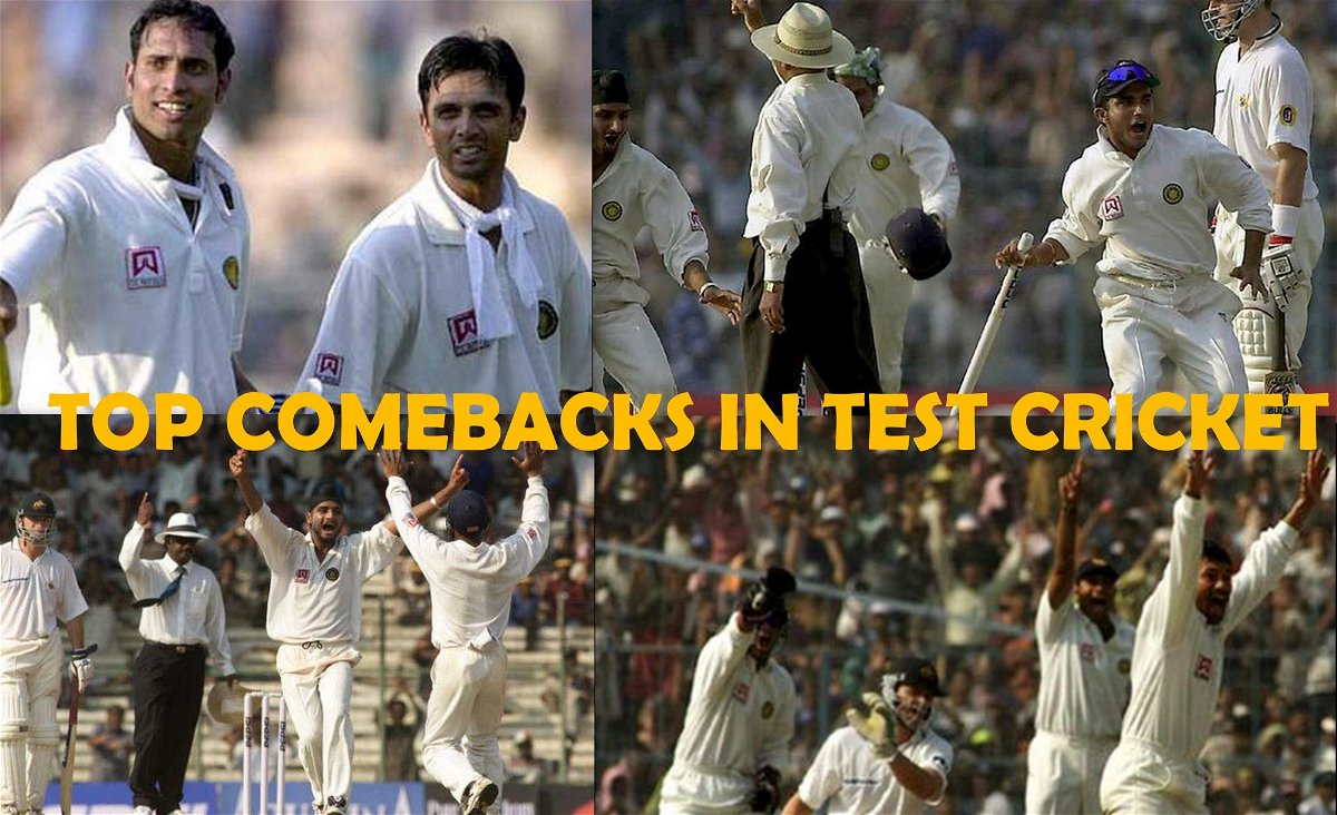 Top Comebacks in Test Cricket