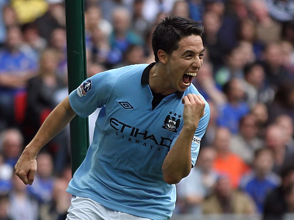 Nasri ready to compete with Sterling and Delph ...