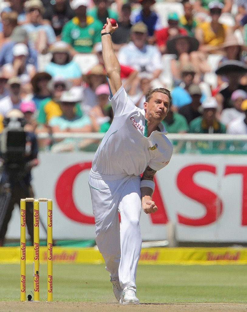 Steyn is the second-highest wicket taker for the Proteas after Shaun Pollock (421 wickets).
