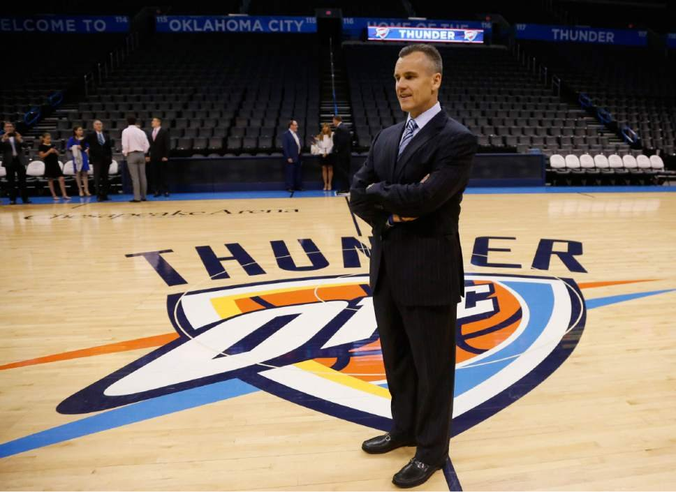 Billy Donovan, the new Thunder coach looks set to finally embark on his NBA coaching career