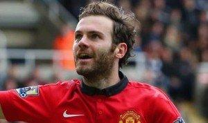 Juan Mata in Man United Colours