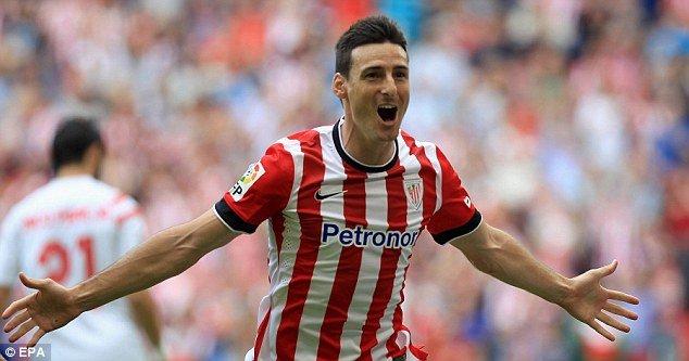 Artiz Aduriz will be leading the Bilbao attack