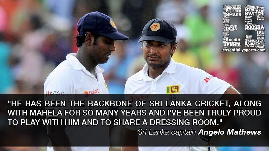 Quotes on Kumar Sangakkara